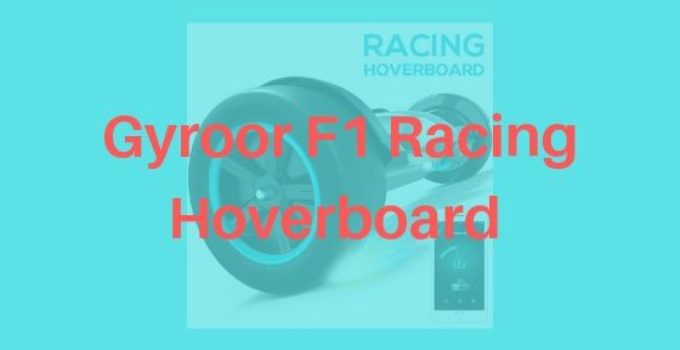gyroor f1 racing hoverboard